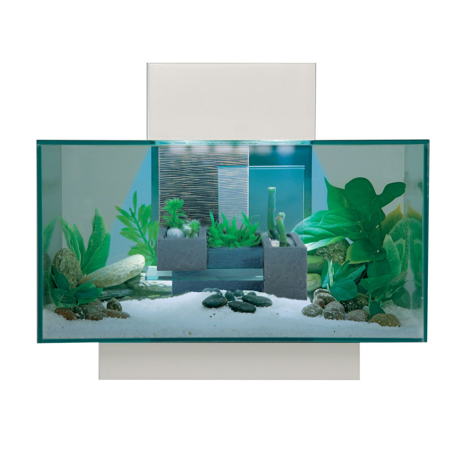 Fluval Edge Aquarium Kit in White Aquarium kit, Fish