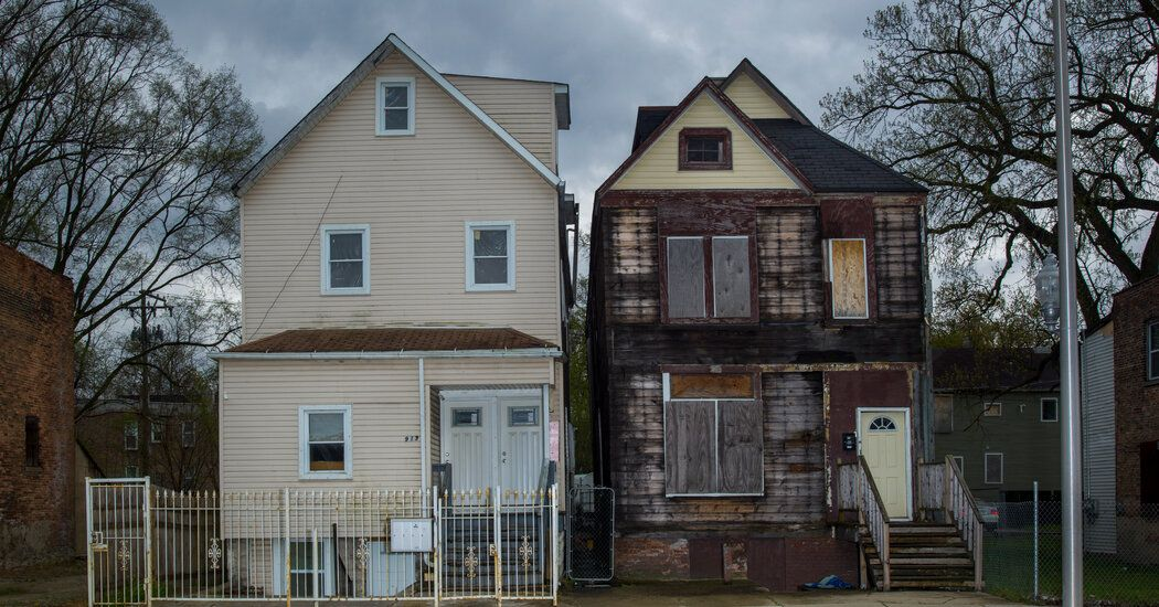 Opinion One City. Two Neighborhoods. A 30Year Gap in