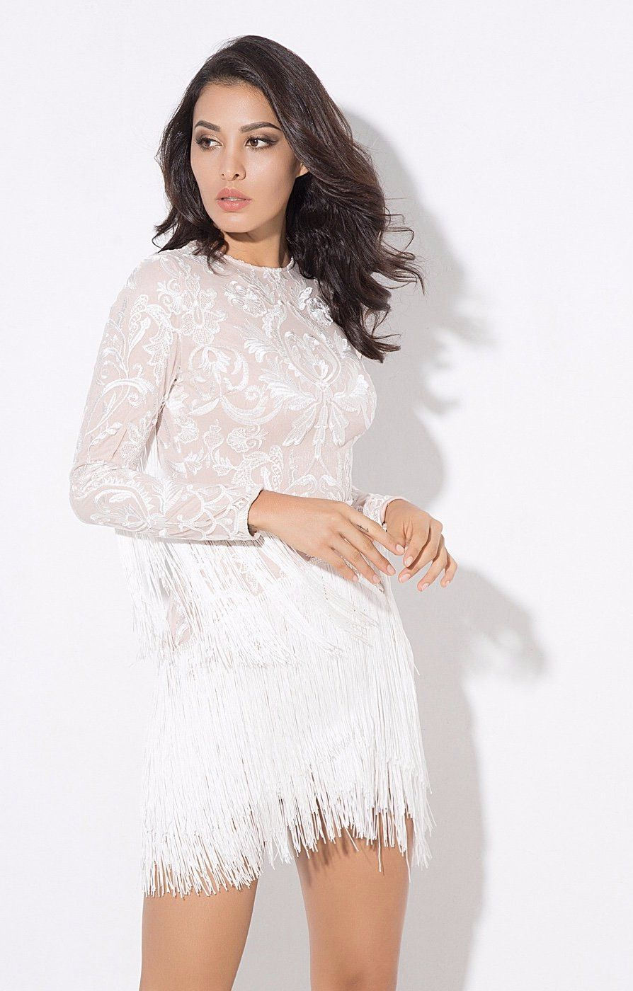 Move Over Little Black Dress This Season Is All About The Little White Dress And We Are Obsessed With This Beauty At F Dresses Fringe Dress White Fringe Dress [ 1400 x 894 Pixel ]