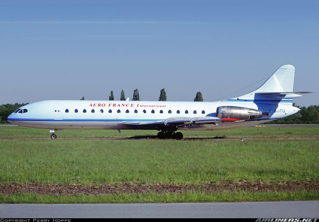 F-BJTU SE-210 Caravelle 10B3 Super B - Aero France International - Chambre De Commerce Francaise Maroc