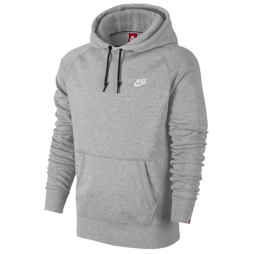 Nike Herren Bekleidung AW77 HBR Hoody Men's Sweatshirt, Grau