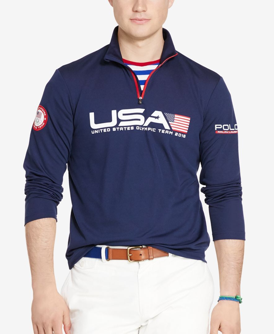 Polo Ralph Lauren Men's Team USA Jersey Pullover - Casual Button-Down  Shirts - Men - Macy's