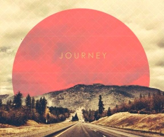 journey is a person in itself The journey itself is the longest part of the destination and the destination is just  that  on the journey to reach your goal, you will not be the same person.