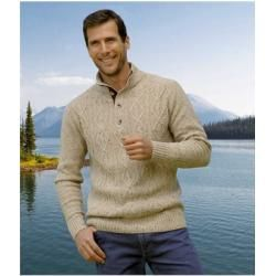 Photo of Strickpullover mit Knopfkragen Atlas For MenAtlas For Men