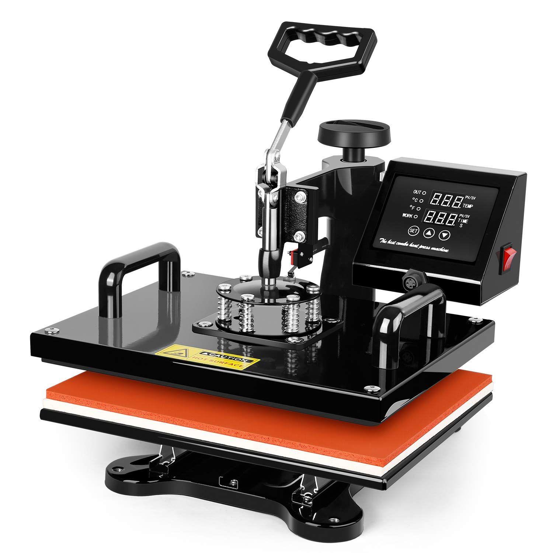 Tusy Heat Press 12x10 Inch Heat Heat Press Machine Heat Press Transfers Heat Press