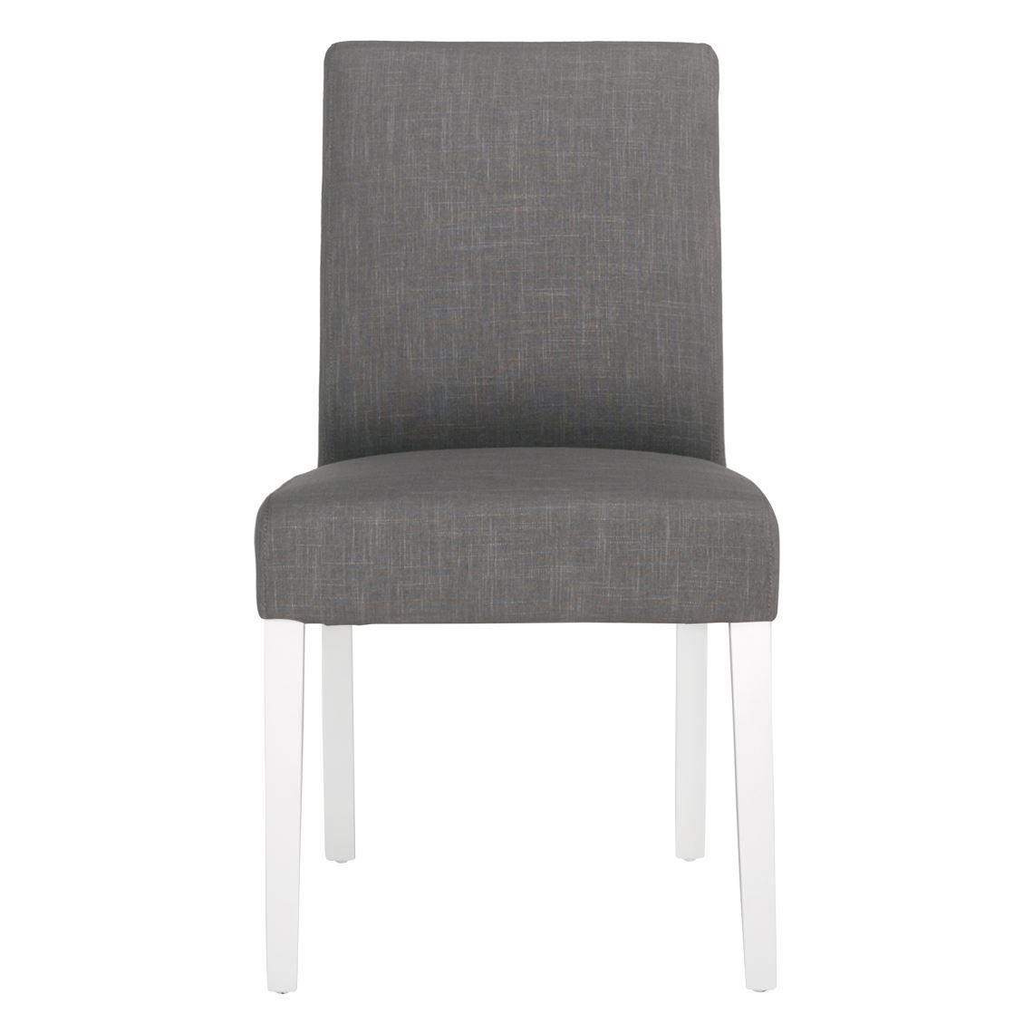 Avante Dining Chair White Leg Ella