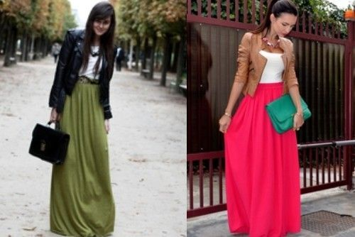 141 Maxi skirt autumn Outfit inspiration: leopard print maxi   tightblack polar neck   belt   denim jacket   red beanie