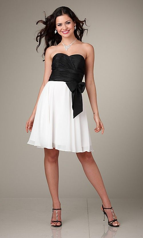 Black White Dress Wedding Guest : Black and white dress dresses wedding guest