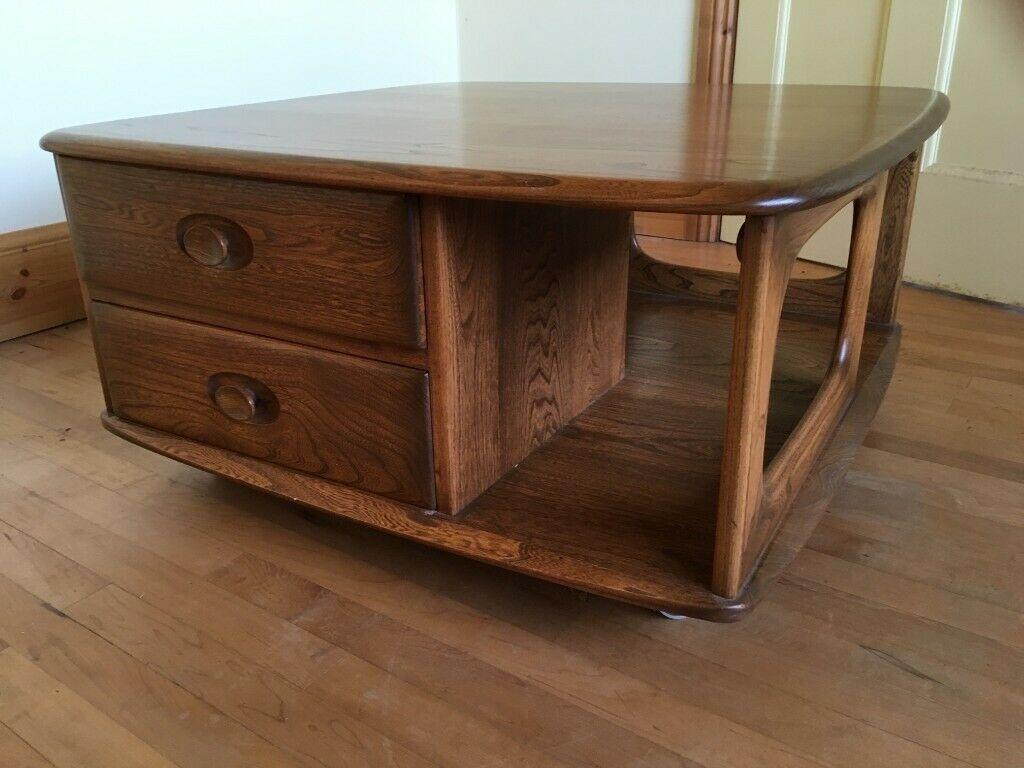 Vintage Ercol Pandora S Box Coffee Table Living Furniture Furniture Ercol Furniture [ 768 x 1024 Pixel ]