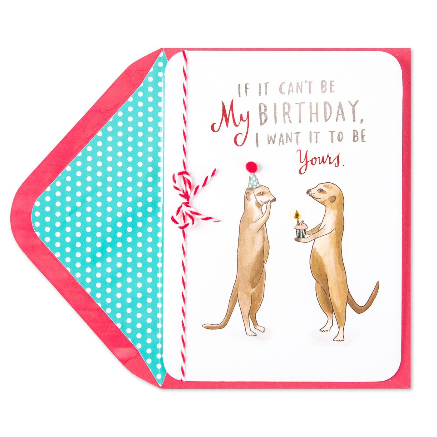 Meerkats Birthday Card
