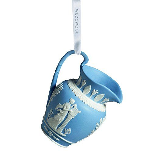 Wedgwood Iconic Pitcher Christmas Ornament, Blue -- Check this awesome product by going to the link at the image.