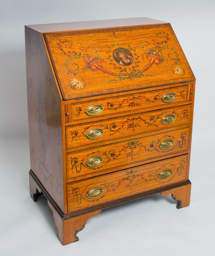 Decorating With Antique Painted Satinwood Furniture Antiques Satinwood Furniture
