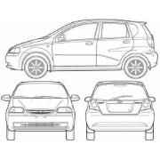 Manual De Taller Chevrolet Aveo 1ª Generacion En Ingles Bs