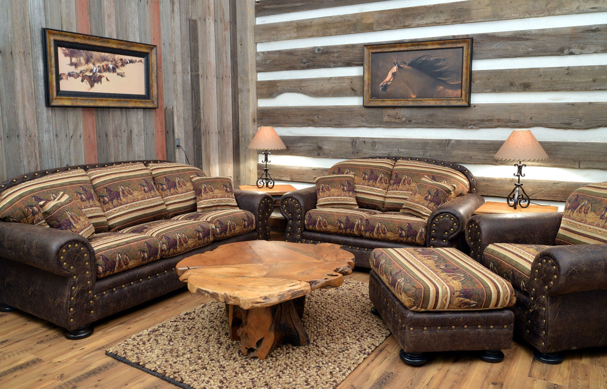 Bon At Back At The Ranch We Have Great Southwest Furniture And Rustic, Western  Style Decorating Ideas For Cabins   Hope You Enjoy Our Living Room  Collection!