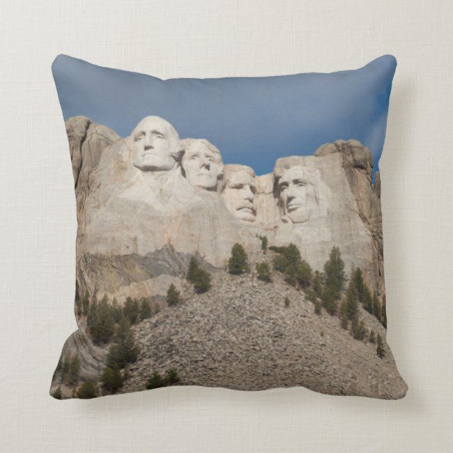 USA South Dakota Black Hills National Forest Throw Pillow #abraham #lincoln #america #american #black #ThrowPillow