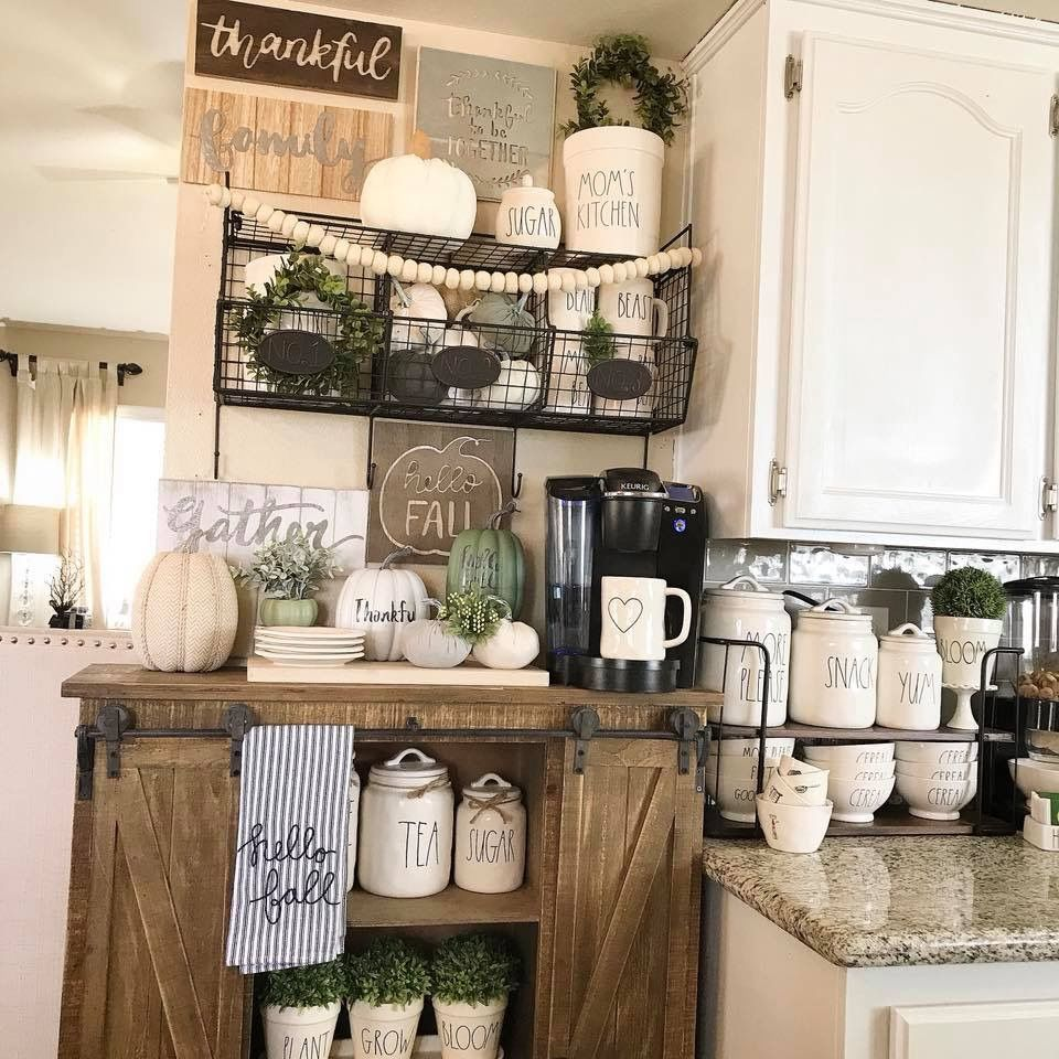 Farmhouse Coffee Shop Coffee Bar Ideas Farmhouse Coffee Bar Coffee Bar Ideas In 2019