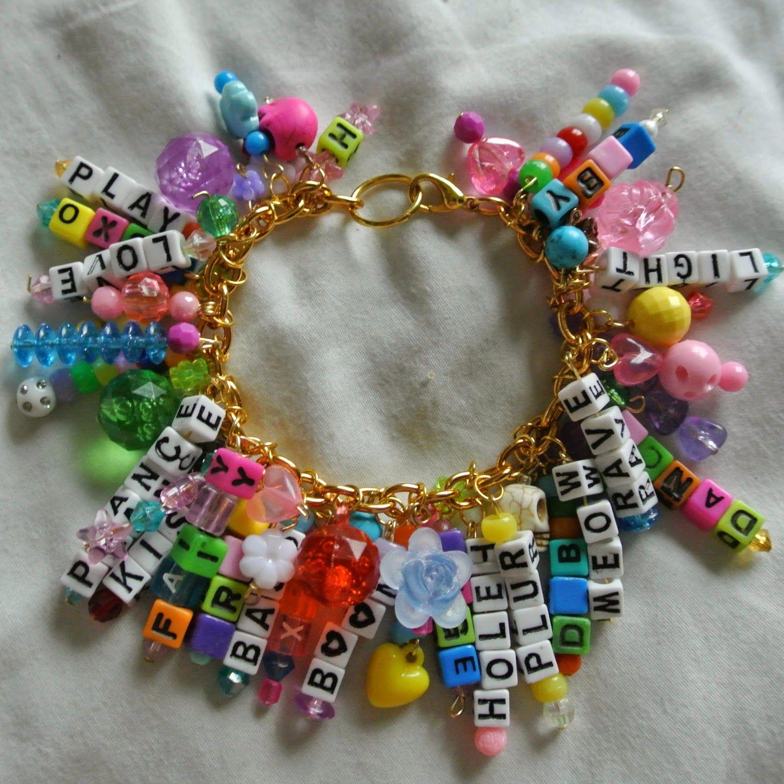 Charm Bracelet Ideas: Kandi Charm! #plur #Dancefestopia #Kandi