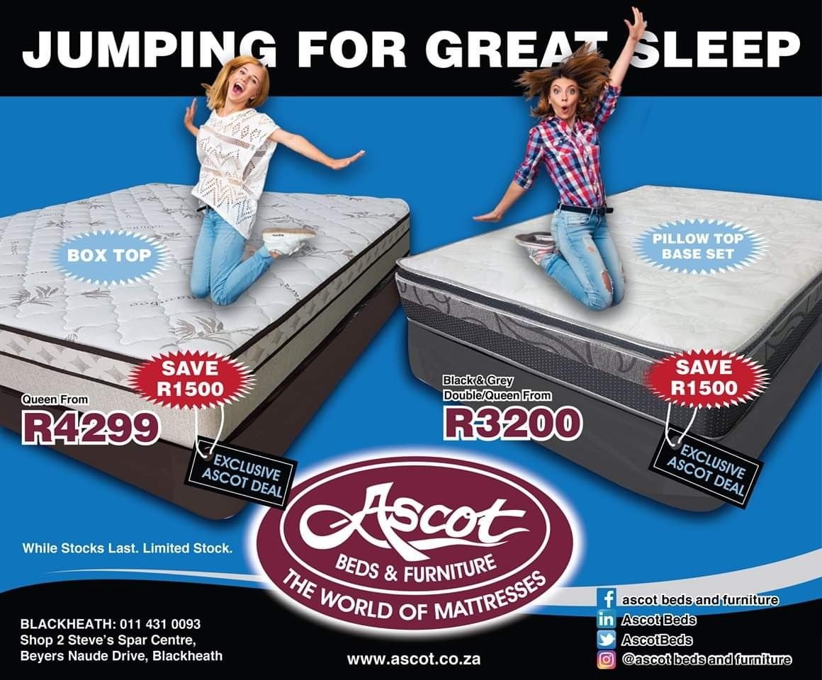Jumping For Great Sleep Ascot Blackheath Deals Bed Furniture Beds For Sale Queen Bedding Sets
