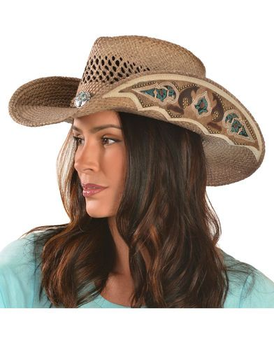 8010ce013 Bullhide From the Heart Straw Cowgirl Hat in 2019 | Western show ...