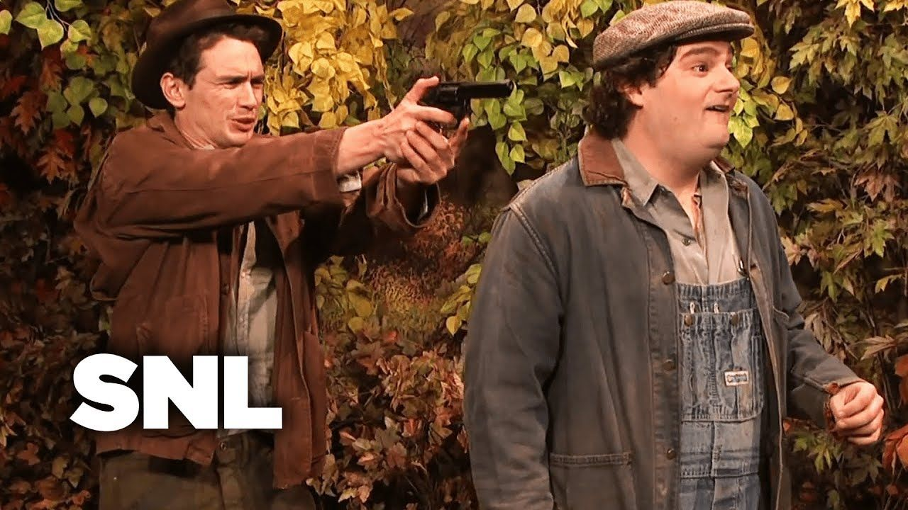 The Lost Ending To Of Mice And Men Snl Of Mice And Men English Classroom Teaching English