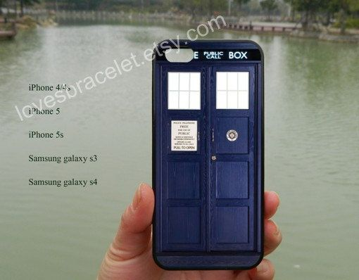 Doctor Who CaseBad Wolf TardisDr Who TardisiPhone by lovesbracelet, $8.99