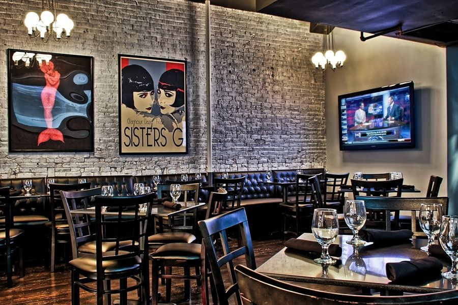 Manhattan Proper is an upscale sports bar perfect for