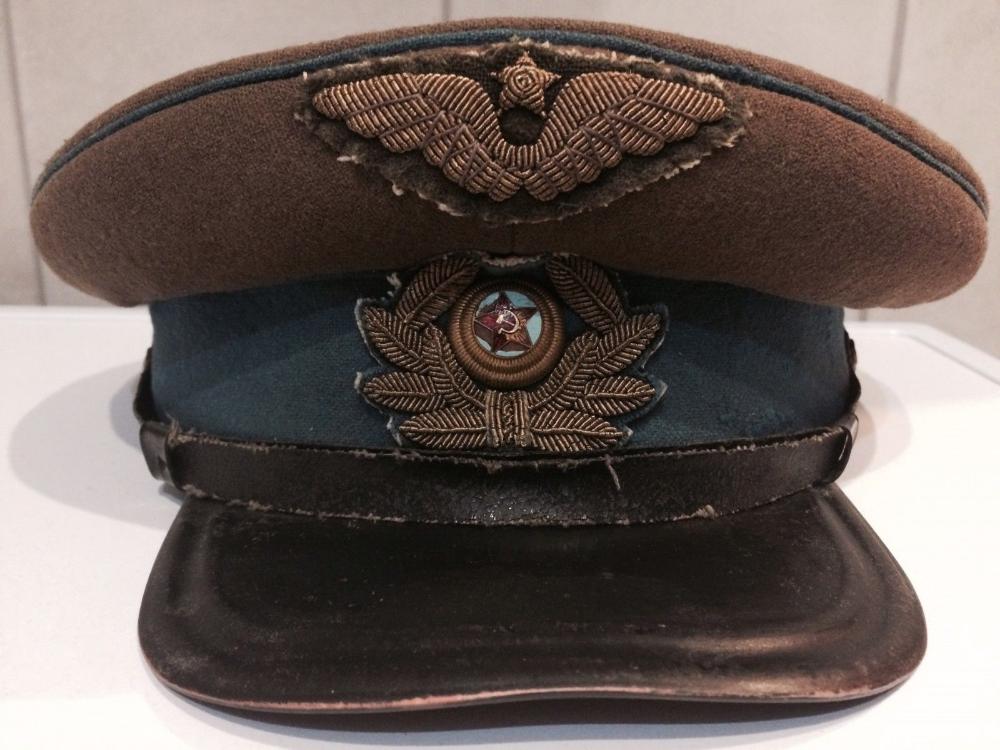 Russian Soviet Army Uniform Cap Original 1943 Ww 2 Furazhka Vtoraya Mirovaya Military Cap Army Uniform Army Coat