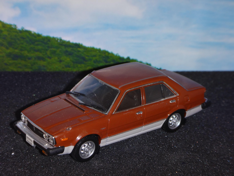 1/43 Honda Accord (1978) Norev   Honda accord, Honda, Toy car