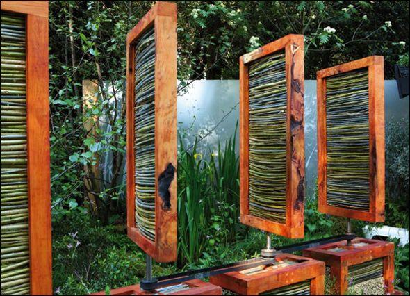 Sichtschutz Schwingkonstruktion Garden \ DIY Plans Pinterest - sichtschutz dusche garten