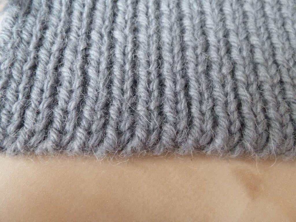 tricoter a l'anglaise