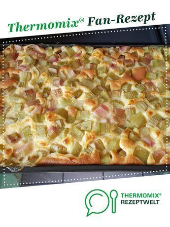 Rhabarber-Vanille-Kuchen vom Blech #fruitsmoothie
