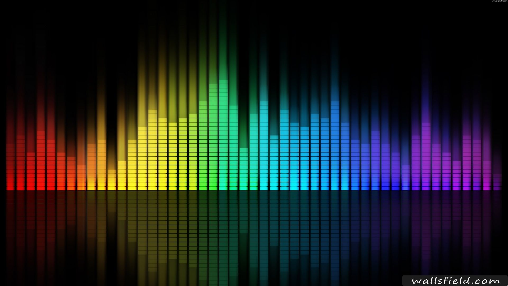 Music Equalizer Music Wallpaper Music Backgrounds Wallpaper