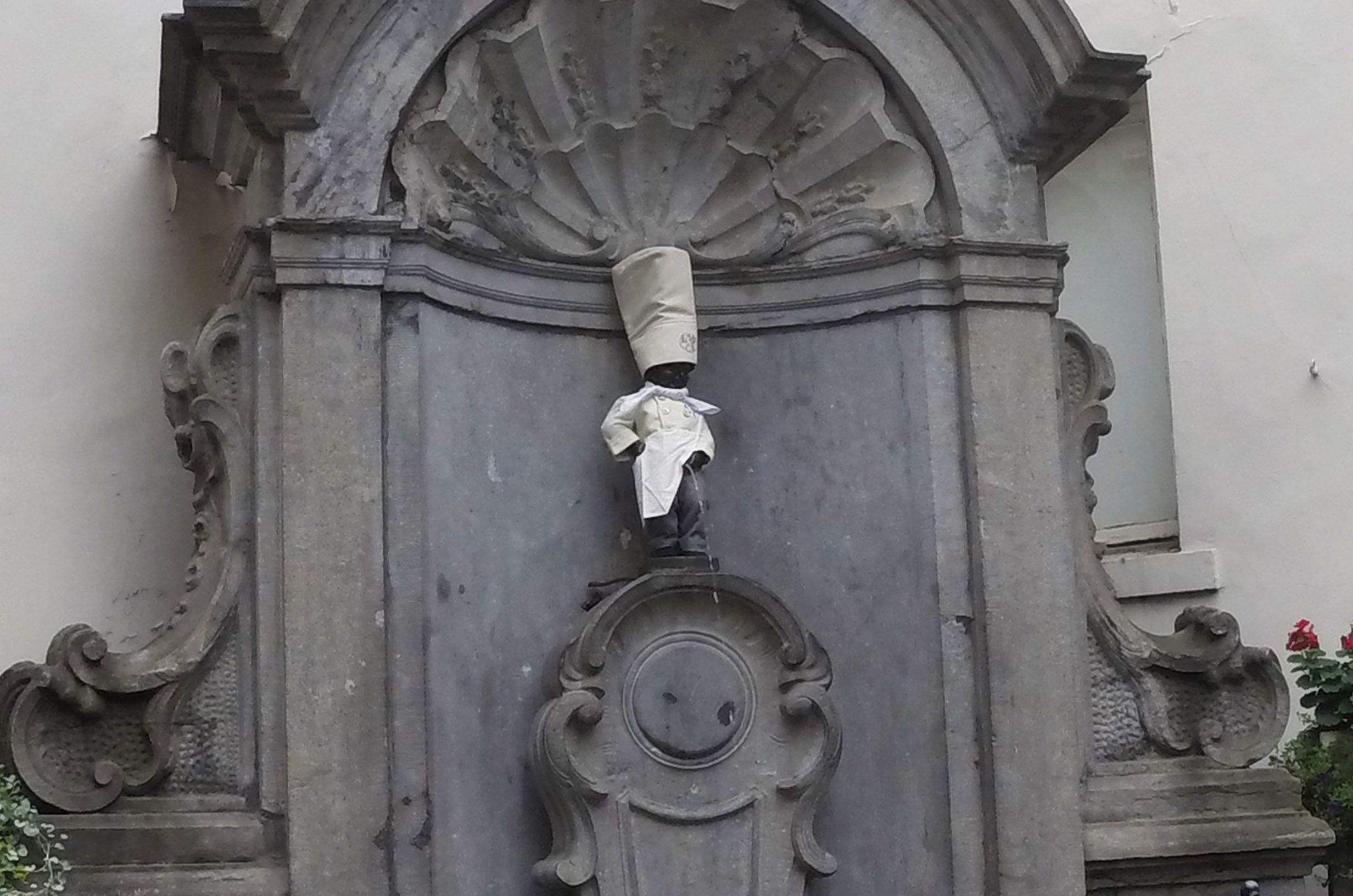 Manneken Pis Bruselas, Bélgica