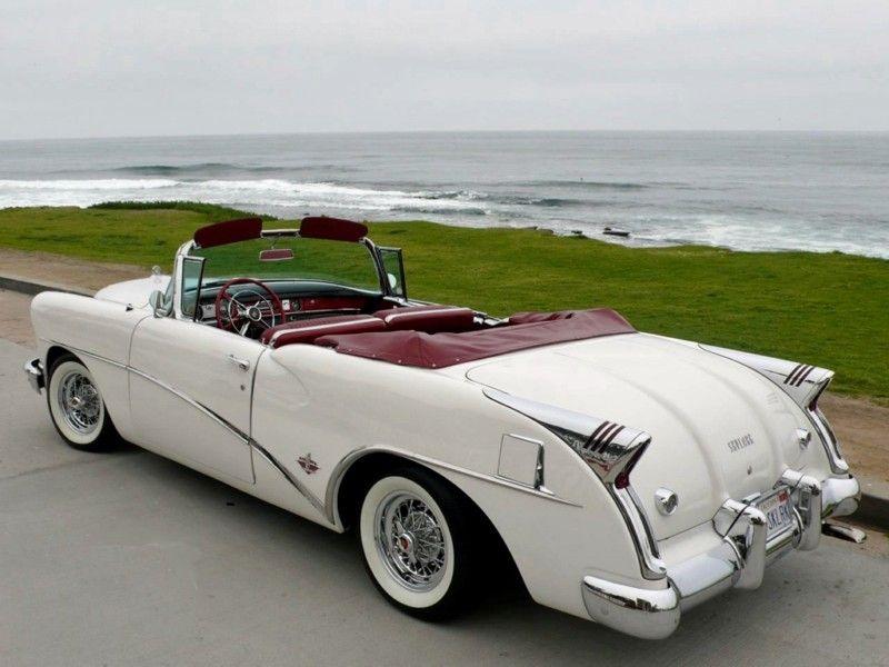 1954 Buick Skylark Convertible very rare!   cars   Pinterest   Buick ...