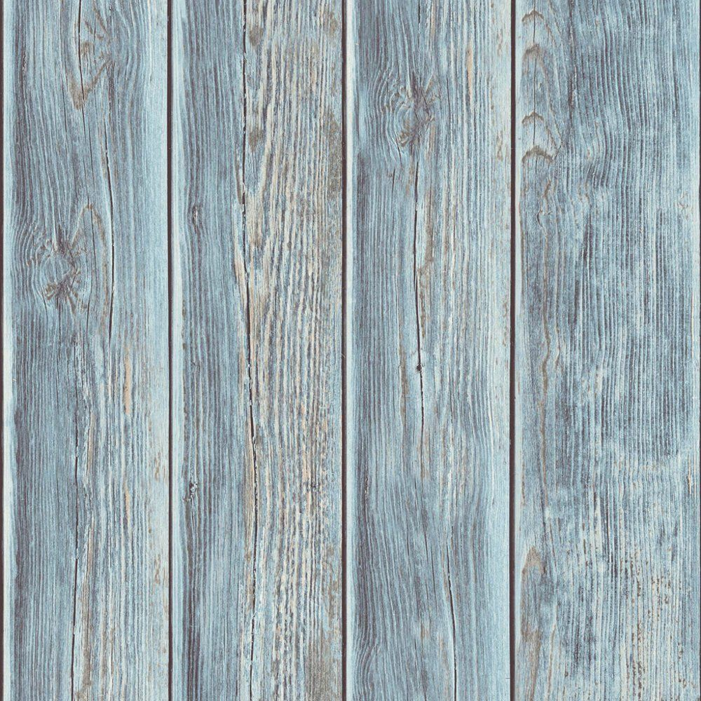 Timber Panel Blue Rustic Wood Wallpaper Wooden Wall Panels Timber Panelling