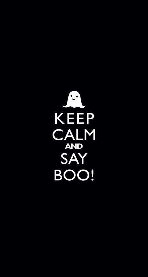 Halloween Keep Calm Quote