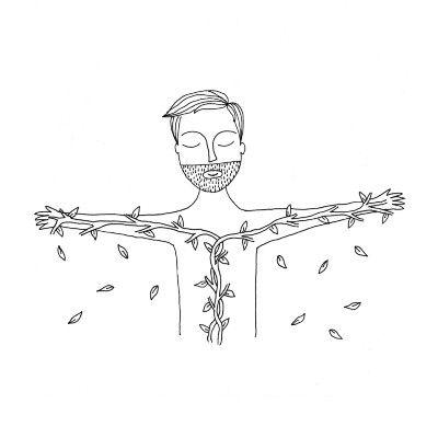 Humildade 023 Ilustracao Minimalista Ilustracao E Desenhos