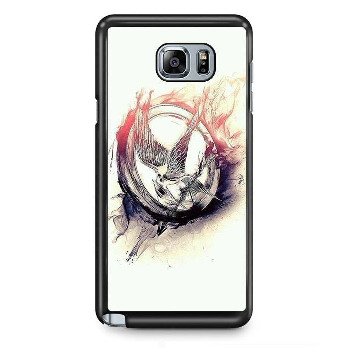 Hunger Games Arts TATUM-5400 Samsung Phonecase Cover Samsung Galaxy Note 2 Note 3 Note 4 Note 5 Note Edge
