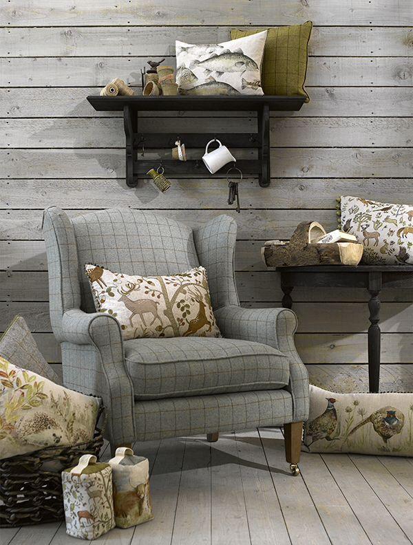 lovely tweed armchair living room pinterest armchairs living rh pinterest com
