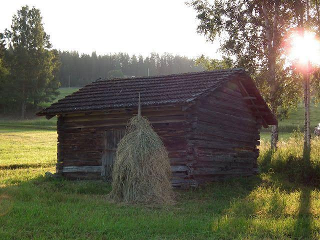 Old-fashioned Finnish haystack