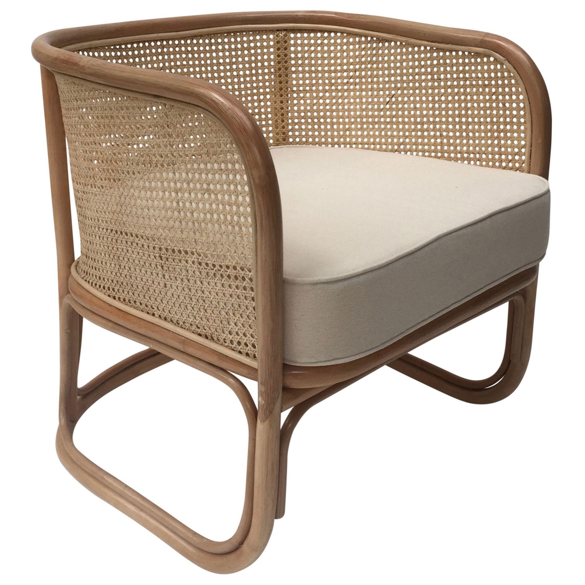 Joplin Rattan Lounge Chair Temple Webster 499