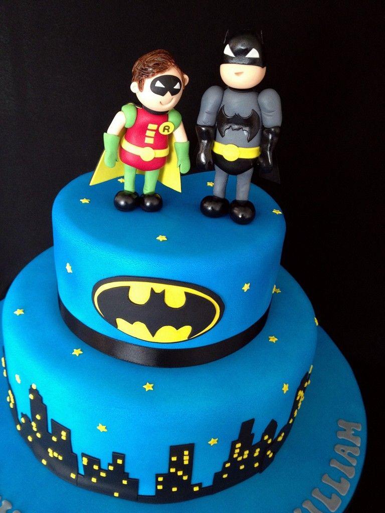 Batman And Robin Birthday Cakes Parties Pinterest Birthday