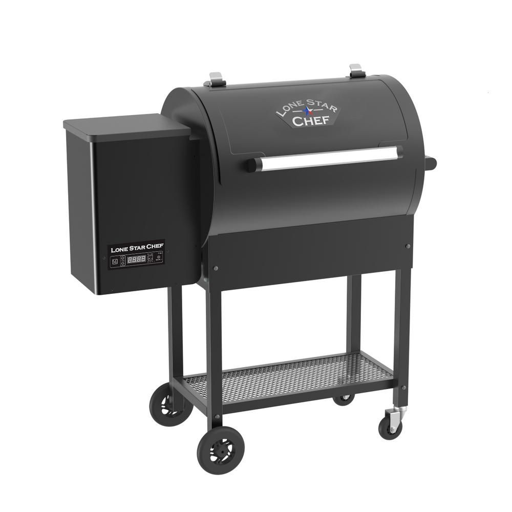 Lifesmart Pellet Grill and Smoker with Single Meat Probe ...
