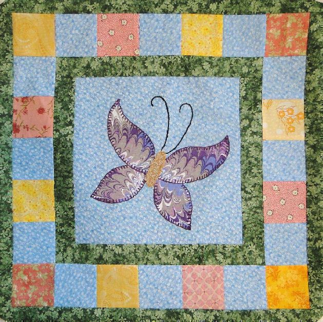 Download Flutter Butterflies Bedrunner Sewing Pattern | Cottage ... : cottage quilt designs - Adamdwight.com