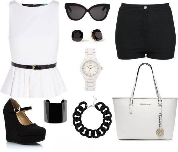 #spring #black #white