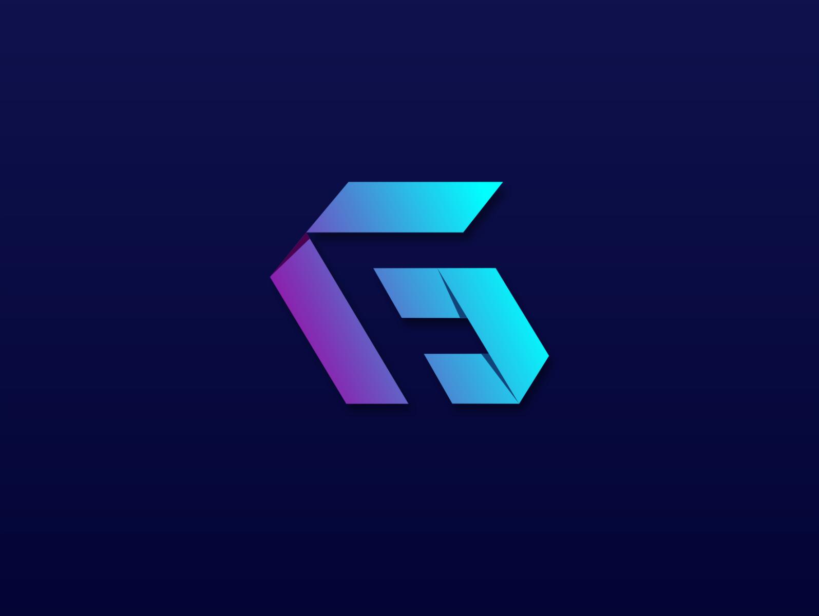 Gf Logo Logo Design Creative Graphic Design Logo Logo Design