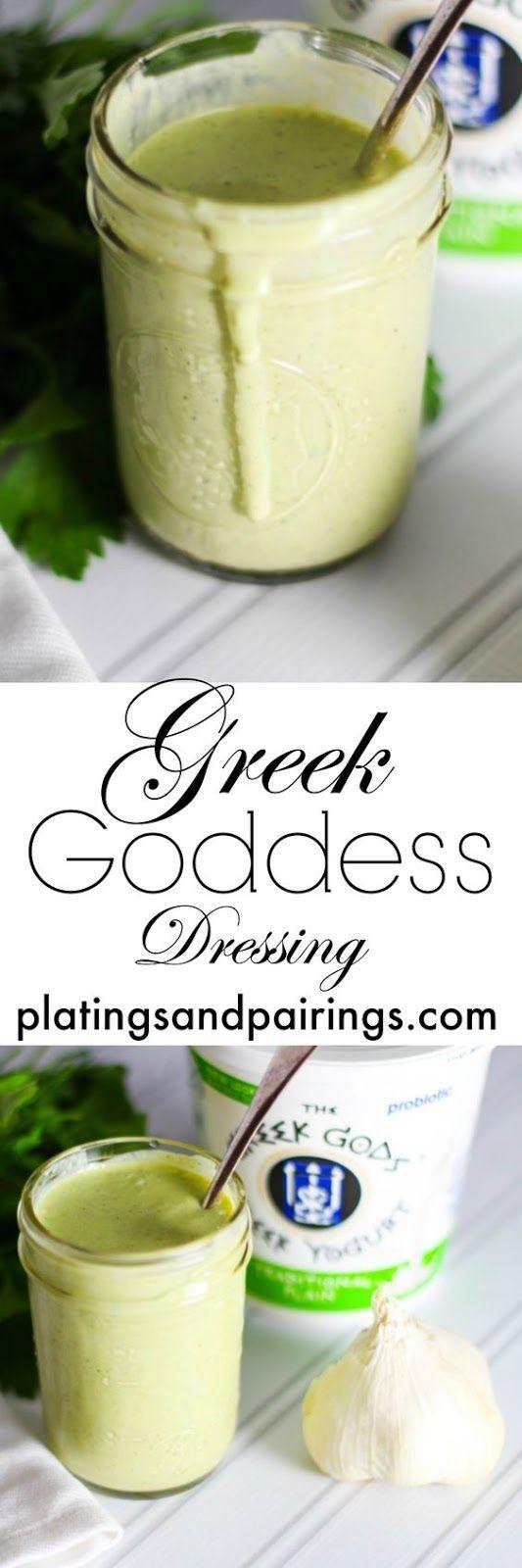 Greek Yogurt Dressing Resep Makanan Makanan Resep Masakan
