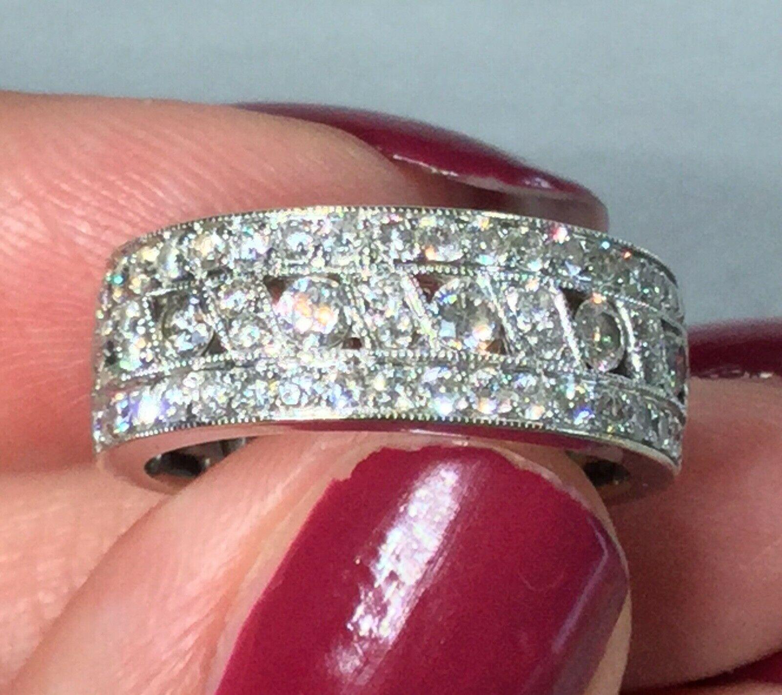 10 ct white gold mens diamond ring Diamond rings with