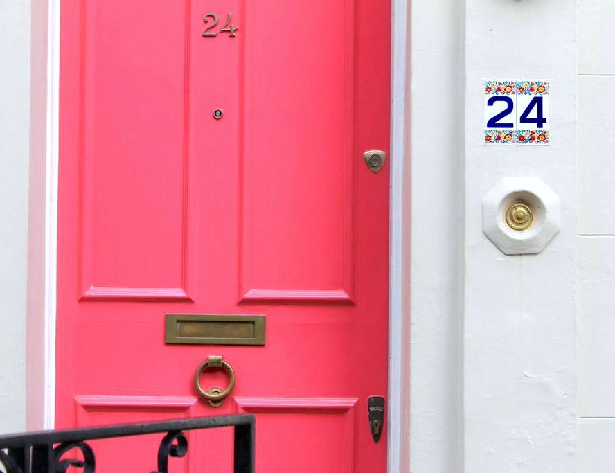 notting hill london 24 portobello road neon hot pink door & notting hill london 24 portobello road neon hot pink door | Travel ... Pezcame.Com