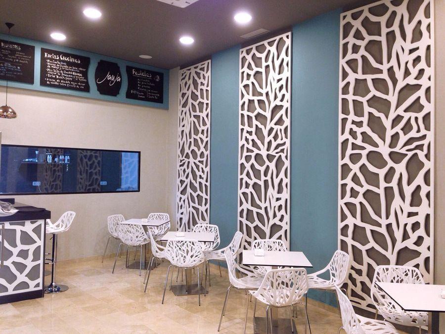 Fabricaci n de celosias para decoraci n interior y - Paneles decorativos exterior ...